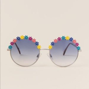 Floral Round Sunglasses